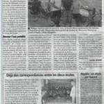 La Gazette, périple à vélo.