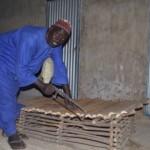 Fabrication d'une chaine longue par le menuisier.