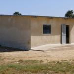 L'ancien dortoir transformé en classe de maternelle avec accès handicapé.