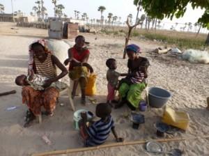 les enfants sont nombreux dans le village