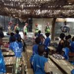 Les gazelles de Fayako dans la classe de CPa de l'école Mbam2.