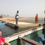 L'après-midi, arrivée à Fayako sur le fameux ponton.