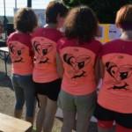 Les gazelles et leur T-Shirt