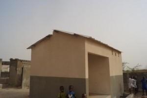 Les toilettes de l'école, décembre 2016