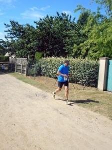 représentation du Running Ennery Club